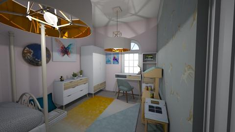 girl room  - Kids room - by dorotazulczyk1