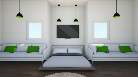 Wallbine Suite - Modern - Bedroom - by johnnymusicman