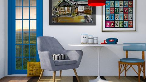 Easy Eclectic  - Eclectic - Dining room - by Jessica Fox