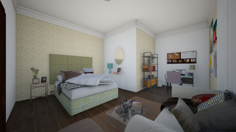 Town House - Bedroom - by kgo01