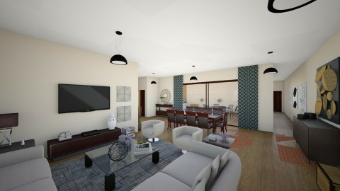 sala su - Living room - by sueli dias