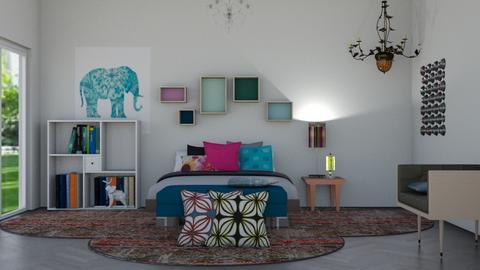 Bohemian bed - by Joanne Galle_680