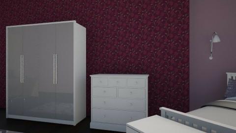 Purple Room HH - Feminine - Bedroom - by xholyyy