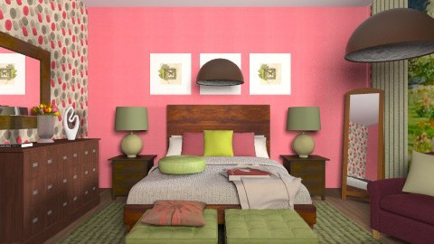 RGB room - Classic - Bedroom - by ElenaSpr