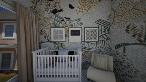GreysNursery - Kids room - by hmgrl