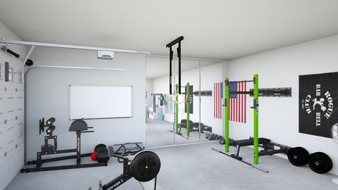 Rogue fitness garage gym [canariasdeportiva]