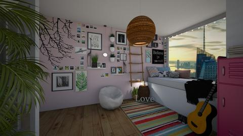teen dreams - Bedroom - by white_dove