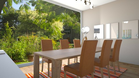 salle a manger moderne - Modern - Dining room - by Carole Fontaine
