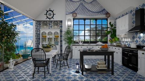 Nautical Kitchen - by lydiaenderlebell