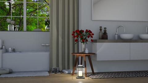 Casual Bathroom - Modern - Bathroom - by millerfam