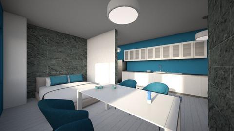 Akos_kek - Living room - by Zsotiur