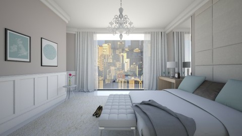 Jardins - Bedroom - by Valeska Stieg