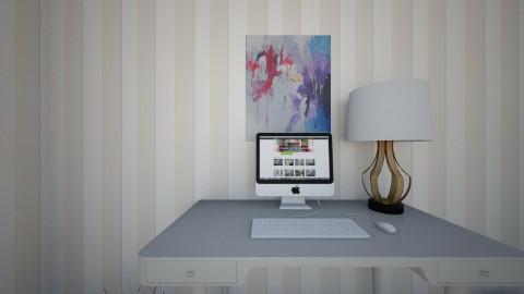 room pt1 - Feminine - Bedroom - by Maddie Freeman