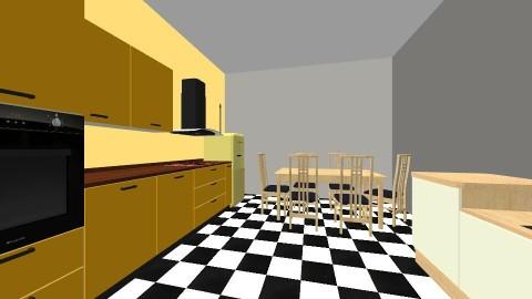 1950s Kitchen - Vintage - Kitchen - by baileyluvsfood