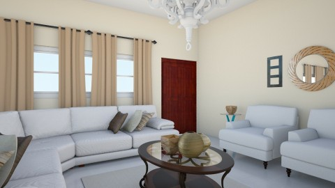 A15 interior 1 - Living room - by TamikaDM
