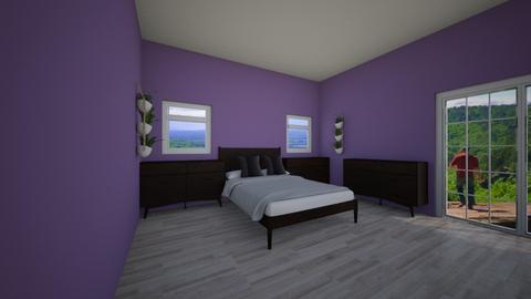 vb - Eclectic - Bedroom - by ham_n_lid