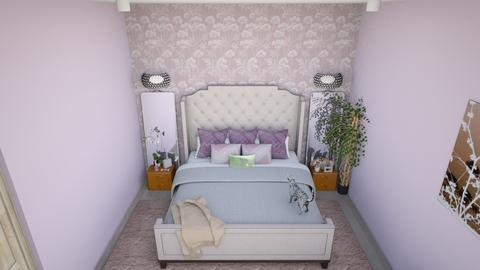 Girlish Bedroom - Feminine - Bedroom - by llaurenpie