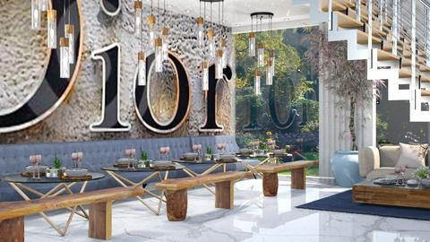 Luxury  Restaruant  Dior - Dining room - by Mark T