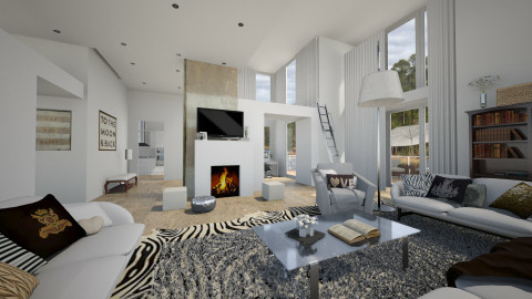 Brand New Sliced decor - Modern - Living room - by silac26