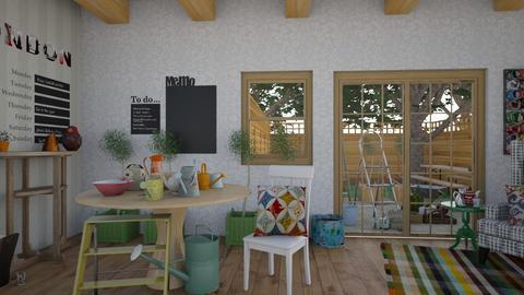 Tea Nook - Country - Living room - by XiraFizade