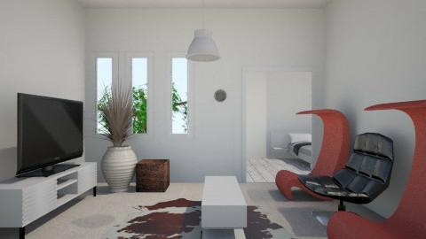 part1 - Eclectic - Bedroom - by matthewgamman