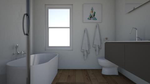 master bath nine Wide - Bathroom - by suzan11