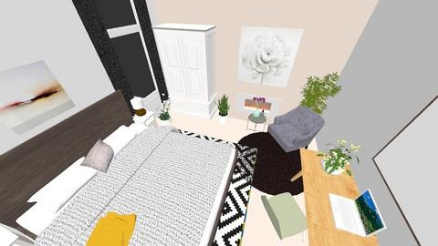 upper bed top view - Bedroom - by macdebdesign