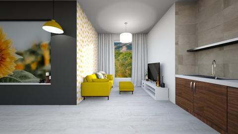 mustard  - Living room - by TamarK