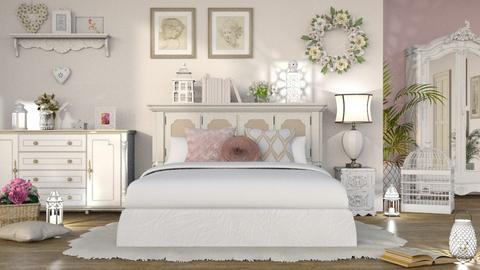 shabby chic bedroom - Bedroom - by LB1981