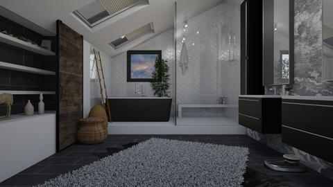 Attic Bathroom - Bathroom - by aq123