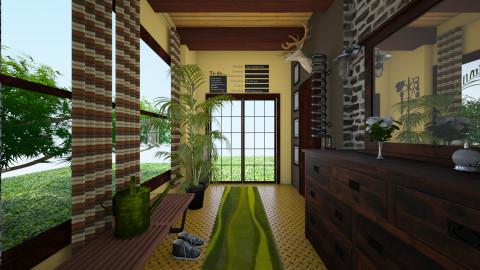 Gross hall - Garden - by nassurina