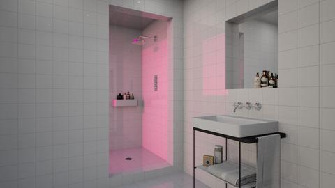 PINK GLASS - Modern - Bathroom - by Maria Esteves de Oliveira