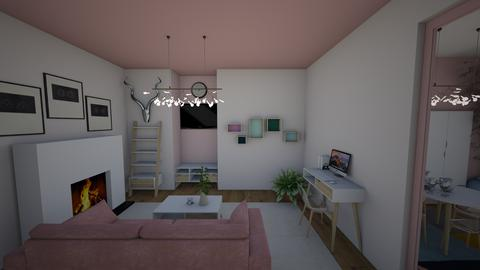 pink room - Living room - by joetee