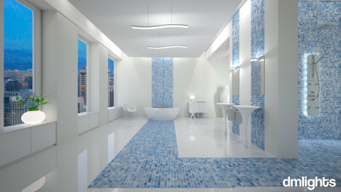 DMLights Bathroom - Bathroom - by Elaenerys