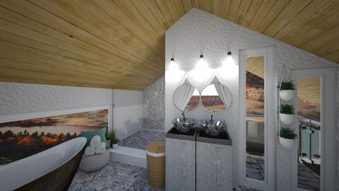 Marble bathroom - Bathroom - by Mesehabbal