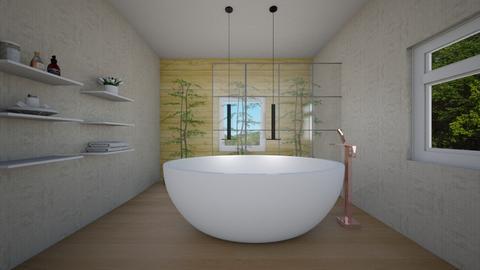 japanese - Modern - Bathroom - by Jacqueline De la Guia