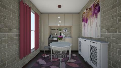 small appartament - Modern - Kitchen - by steeeev