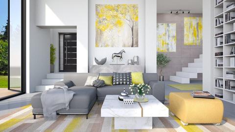 Overdimensional - Living room - by LB1981