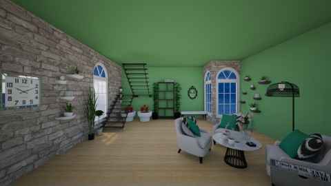 Living room from dreams - by Blanchette