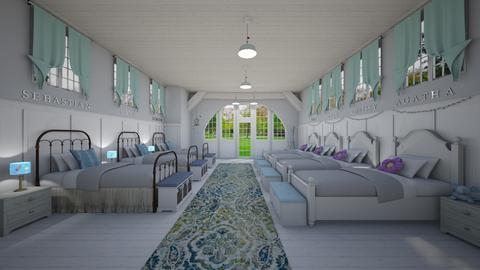 Charles Brown - Rustic - Bedroom - by Elenn