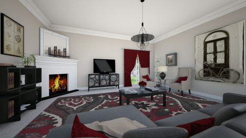 For Nadia07 II - Classic - Living room - by Theadora