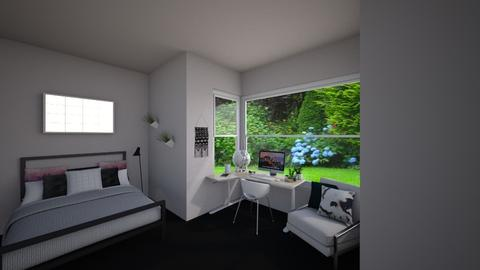 Simple - Minimal - Bedroom - by Anastasija Jovanovic