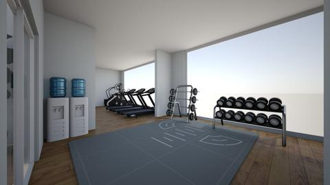 Resort Gym   - by averygrace06