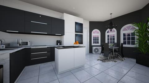 New York Style Apartment - Kitchen - by alparensie