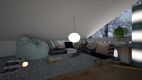 chill corner - Living room - by white_dove
