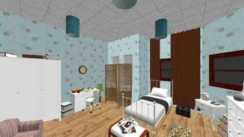 Fresh and Cosy Bedroom - Vintage - Bedroom - by Pro Dominik