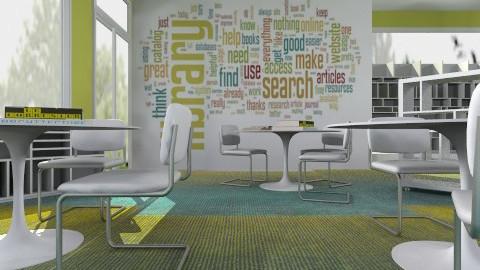 Library Concept - Kids room - by Albani Dubraska Torreyes