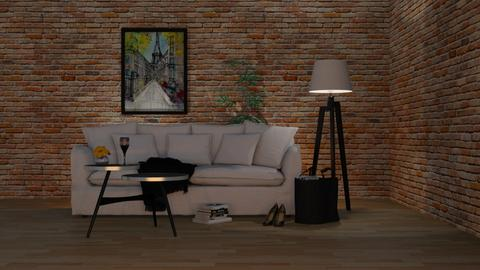 Bohemian Skirted Sofa - Eclectic - Living room - by Theadora
