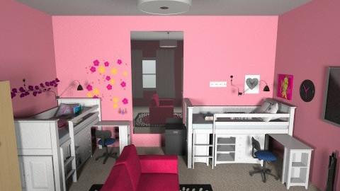 dorm 2 - Bedroom - by sberry