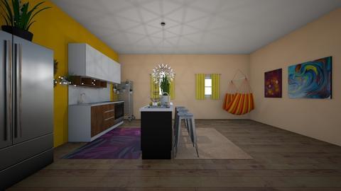 Boho babe kitchen - by lexi_g